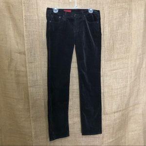 AG Adriana Goldschmied SZ 27 Corduroy Pants Willow